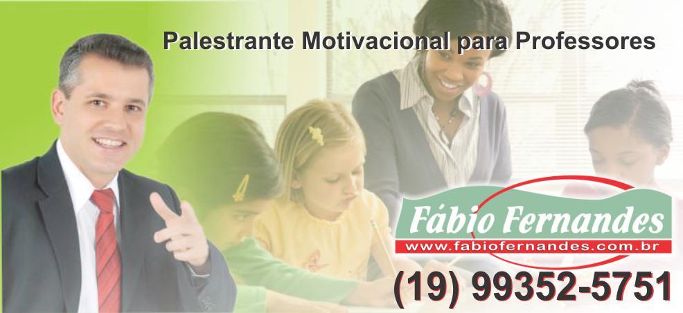 palestrante motivacional para professores